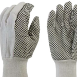 GLOVES - BLACK DOT ~12