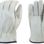 GLOVES COW GRAIN DRIVERS L OR XL ~12