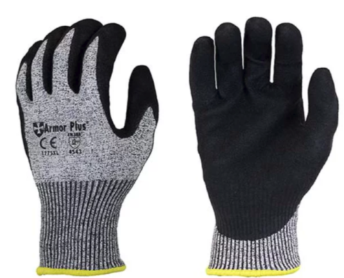 GLOVES CUT RESISTANT MICRO FOAM NITRIL COATED ~12