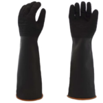 GLOVES RUBBER BLK HEAVY WT 14 INCH 12 PACK