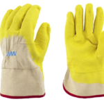 GLOVES RUBBER PALM COATED